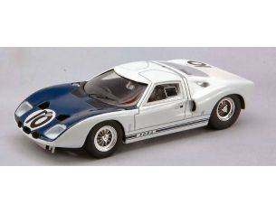 Bizzare BZ329 FORD GT 40 N.10 LM TEST APR.'64 1:43 Modellino