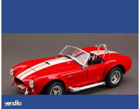 Welly WE2693 SHELBY COBRA 427 SC 1965 RED/WHITE 1:24 Modellino