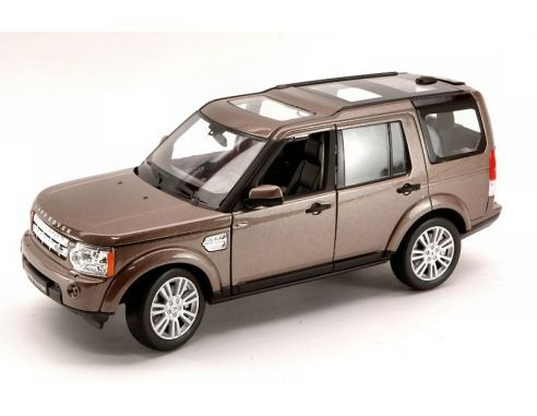 Auto 1 24 welly we3798 land rover discovery 4 2010 brown for Discovery 24 shop