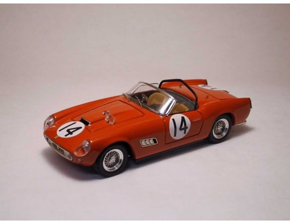 Art Model AM0089 FERRARI 250 CALIFORNIA N.14 10th 12H SEBRING 1960 R.PUBLICKER 1:43 Modellino