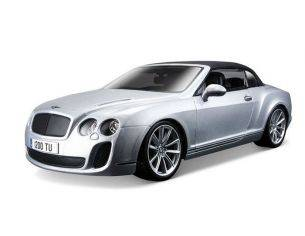 Bburago BU11037 BENTLEY CONTINENTAL SUPERSPORT CONVERTIBLE SOFT TOP 2010 1:18 Modellino