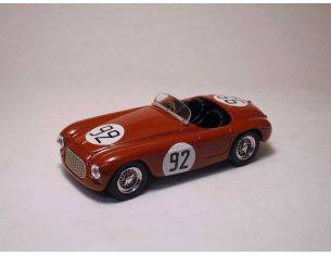 Art Model AM0092 FERRARI 225 S N.92 2nd GP MONACO 1952 E.CASTELLOTTI 1:43 Modellino