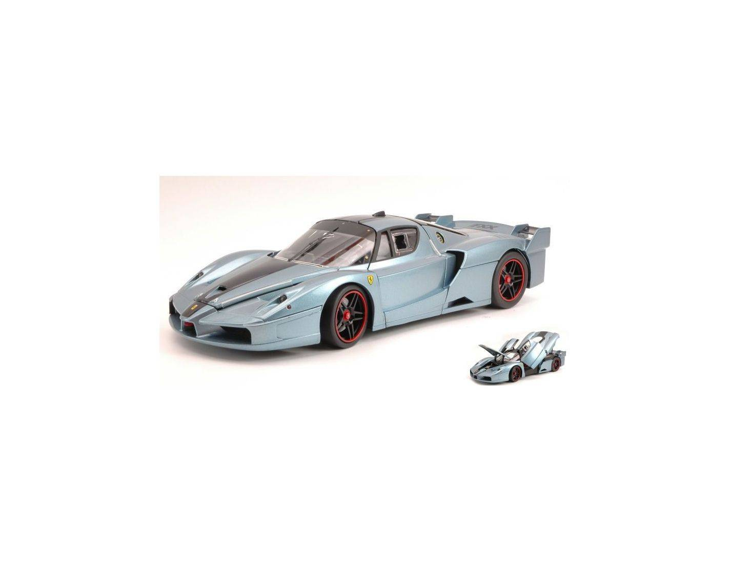 Hot Wheels Elite HWN2065 FERRARI FXX DUE TONI 1:18 Modellino