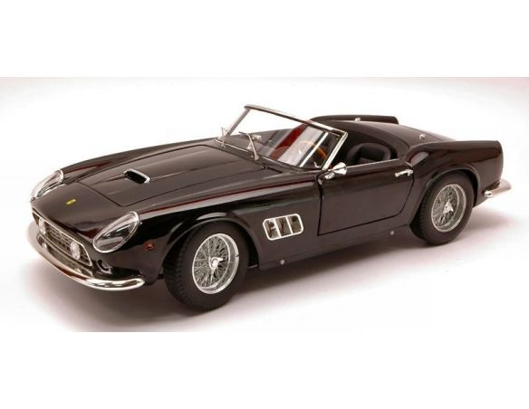Hot Wheels HWV0561 FERRARI 250 GT CALIFORNIA SWB'60 NERA 1:18 Modellino
