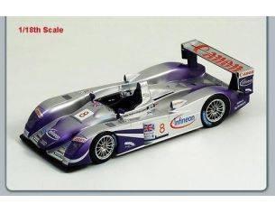 Spark Model S1804 AUDI R 8 N.8 LE MANS 2004 1:18 Modellino
