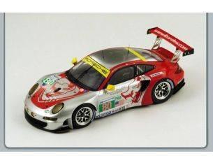 Spark Model S18074 PORSCHE 997 RSR N.80 49th LM 2012 BERGMEISTER-HOLZER-LONG 1:18 Modellino