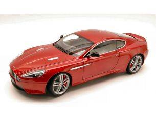 Welly WE4696 ASTON MARTIN DB9 COUPE' 2005 RED MET. 1:18 Modellino