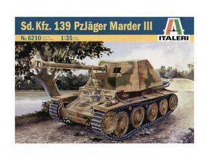 Italeri IT6210 SD KFZ 139 PANZERJAGER MARDER Modellino