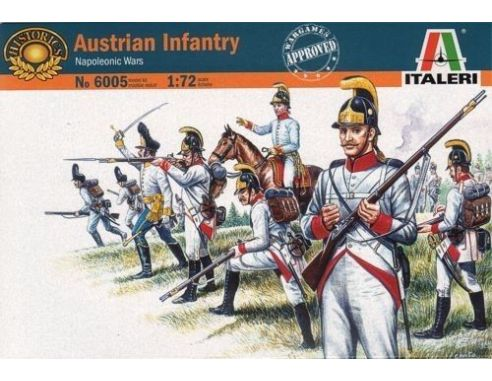 Italeri IT6005 AUSTRIAN INFANTRY KIT 1:72 Modellino