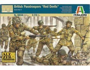 Italeri IT6034 BRITISH RED DEVIL KIT 1:72 Modellino