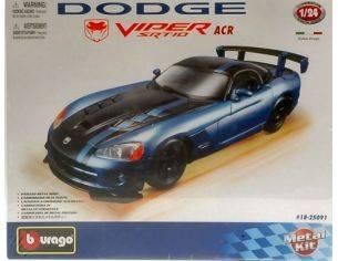Bburago BU25091 DODGE VIPER SRT 10 ACR 2007 KIT 1:24 Modellino
