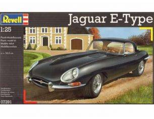Revell RV7291 JAGUAR E-TYPE SPIDER 1961 KIT 1:25 Kit Auto