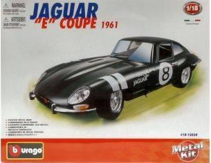 Bburago BU15024 JAGUAR E COUPE' 1961 KIT 1:18 Modellino