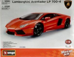 Bburago BU15056 LAMBORGHINI AVENTADOR LP700-4 2011 KIT 1:18 Kit Auto
