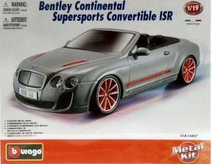 Bburago BU15057 BENTLEY CONTINENTAL SUPERSPORT CONVERTIBLE ISR 2010 KIT 1:18 Kit Auto