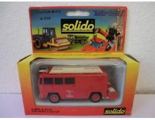 Solido 2106 BERLIET GAK 17 FIRE TRUCK 1/50 Modellino