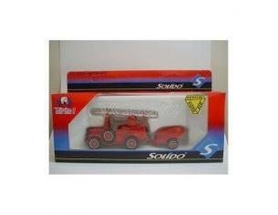 Solido 3137 DODGE + REMORQUE 1/50 Modellino