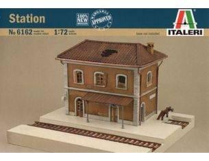 Italeri IT6162 STAZIONE KIT 1:72 Modellino