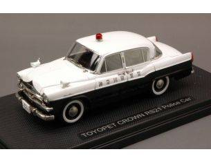 Ebbro EB44566 TOYOPET CROWN RS21 JAPAN POLICE CAR 1:43 Modellino