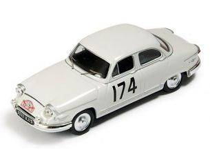 Ixo model RAC082 PANHARD PL 17 N.174 WINNER MONTE CARLO 1961 MARTIN-BATEAU 1:43 Modellino