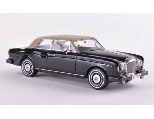 Neo Scale Models NEO44146 BENTLEY CORNICHE 1977 BLACK 1:43 Modellino