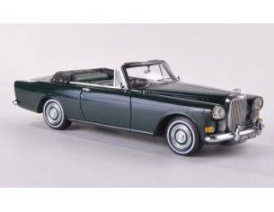 Neo Scale Models NEO44162 BENTLEY SIII CONTINENTAL MULLINER PARK WARD OPEN 1963 DARK GREEN 1:43 Modellino