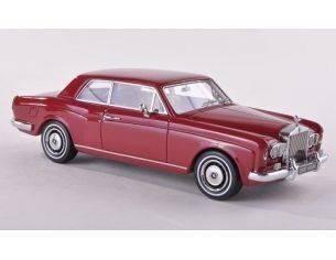 Neo Scale Models NEO44185 ROLLS ROYCE CORNICHE 1971-77 DARK RED 1:43 Modellino