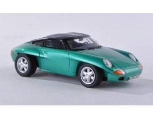 Neo Scale Models NEO44585 PORSCHE PANAMERICANA CLOSED 1989 METALLIC GREEN 1:43 Modellino