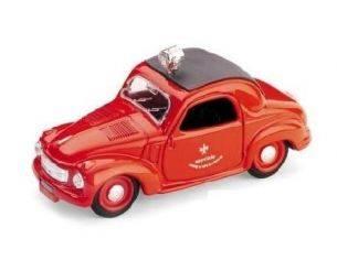 Brumm BM0024 FIAT 500 VIGILI DEL FUOCO 1949 1:43 Modellino