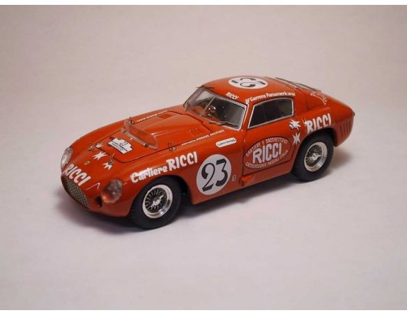 Art Model AM0103 FERRARI 375 MM N.23 6th CARRERA MEXICO 1953 RICCI-SALVIATI-MAGIOLI 1:43 Modellino