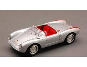 Brumm BM0233-02 PORSCHE 550A RS SPYDER BIPOSTO STRADALE 1954 ARGENTO 1:43 Modellino