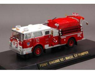 Code3 COD13041 FDNY ENGINE 92 MACK OF PUMPER 1:64 Modellino