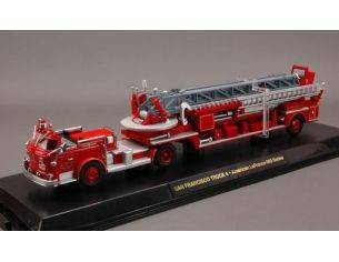 Code3 COD13055 SAN FRANCISCO TRUCK 4 AMERICAN LAFRANCE 900 1:64 Modellino