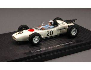 Ebbro EB44256 HONDA R.BUCKNUM 1964 N.20 13th GERMAN GP 1:43 Modellino