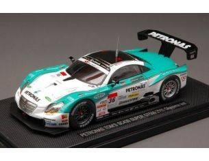 Ebbro EB44535 LEXUS SC430 N.36 OKOYAMA TEST SUPER GT 2011 1:43 Modellino