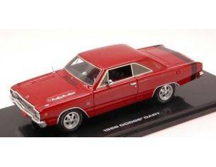 Highway 61 HGW43001 DODGE DART GTS 1968 CHARGER RED 1:43 Modellino