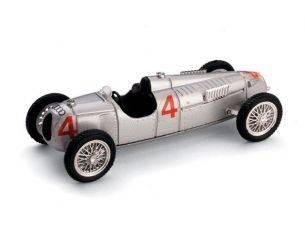 Brumm BM0038 AUTO UNION TIPO C B.ROSEMEYER 1936 N.4 NURBURGRING GP 1:43 Modellino