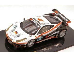 Hot Wheels HWX5498 FERRARI 458 ITALIA GT2 N.89 LM 2011 FAMBACHER-SIMONSEN-KEEN 1:43 Modellino