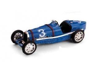 Brumm BM0042 BUGATTI T.NUVOLARI 1934 N.14 RETIRED FRANCE GP 1:43 Modellino