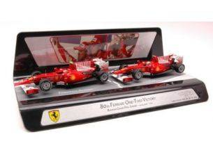 Hot Wheels HWV7423 FERRARI F.ALONSO/F.MASSA 2010 BAHRAIN GP 1:43 Modellino