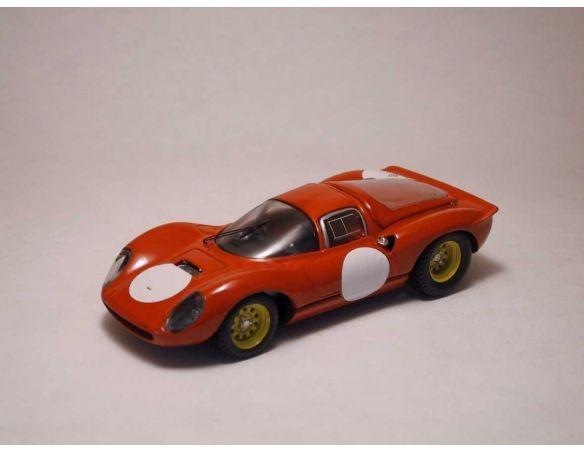 Art Model AM0105 FERRARI DINO 206 1966 STREET RED 1:43 Modellino