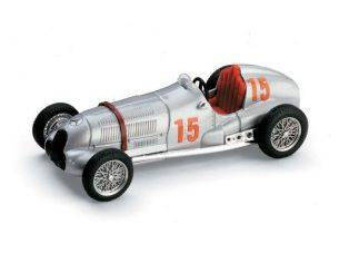 Brumm BM0071 MERCEDES W 125 R.SEAMAN 1937 N.15 2nd GEORGE VANDERBILT CUP 1:43 Modellino