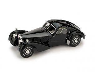 Brumm BM0088-01 BUGATTI ATLANTIC 1938 NERO 1:43 Modellino