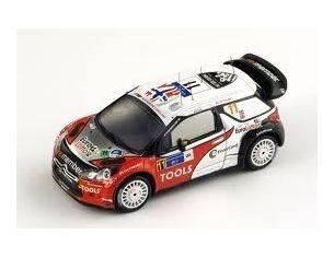 Spark Model S3304 CITROEN DS3 WRC N.11 4th MEXICO RALLY 2011 1:43 Modellino