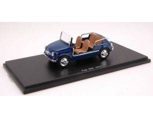 Spark Model S1496 FIAT 500 JOLLY 1962 DARK BLUE 1:43 Modellino