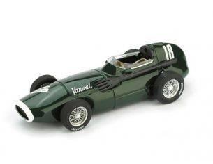 Brumm BM0098 VANWALL F1 MOSS-BROOKS 1957 N.18 WINNER GR.BRITAIN GP  1:43 Modellino