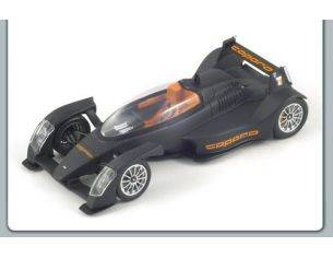 Spark Model S0639 CAPARO T 1 2008 MATT BLACK 1:43 Modellino