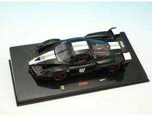 Hot Wheels HWN5608 FERRARI FXX 2005 N.28 BLACK 1:43 Modellino