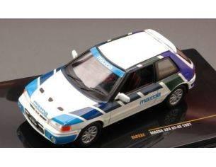 Ixo model CLC237 MAZDA 323 GT-AE 1991 1:43 Modellino