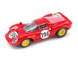Art Model AM0111 FERRARI DINO 206 N.196 T.FL.'66 1/43 Modellino